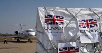 On August 13, 2021,119,360 Astra-Zeneca COVID-19 vaccine doses donated by the U.K. government through the COVAX Facility arrived in Kenneth Kaunda International Airport in Lusaka, Zambia.