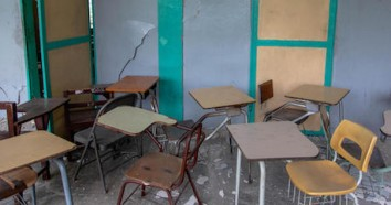 Haiti's 7.2 magnitude earthquake on August 14, 2021 destroyed many schools and damaged others, including College Mazenod in Camp-Perrin, Les Cayes.