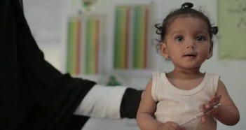 Nine-month-old Nour was treated for acute malnutrition at a UNICEF-supported health center in Sana'a, Yemen. The treatment saved her life.