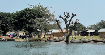 Lake Victoria, Uganda's Buvuma District.