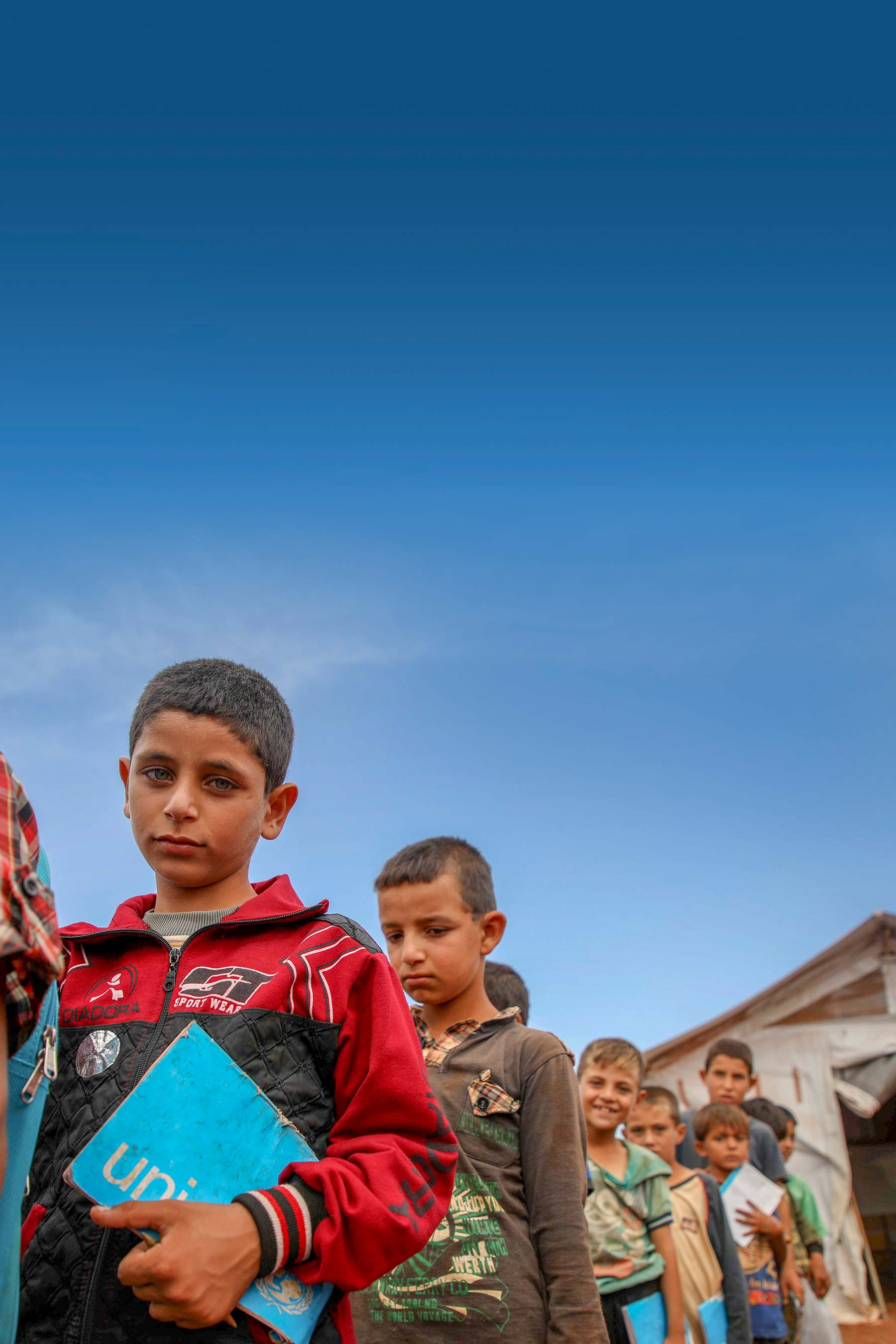 Education Crisis in Syria - Header image