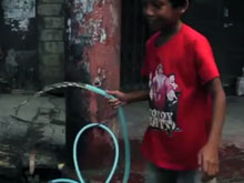 water returns to Tacloban
