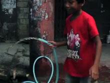 water returns to Tacloban