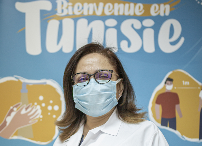 Professor Nissaf Bouafif Ben Alaya, General Director of the National Observatory for New and Emerging Diseases at Tunisia's Ministry of Health