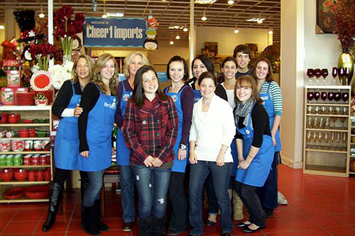 pier 1 imports careers. Kelsey Fosstveit National Pier1/UNICEF Greeting Card Contest Winner With Team Members From The Pier1 Pier 1 Imports Careers R