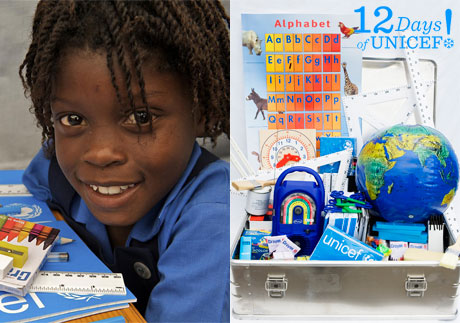 12 Days of UNICEF: School- in- a Box