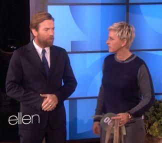 UNICEF Ambassador Ewan McGregor on Ellen