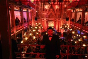 Brandon Pena at the UNICEF Masquerade Ball