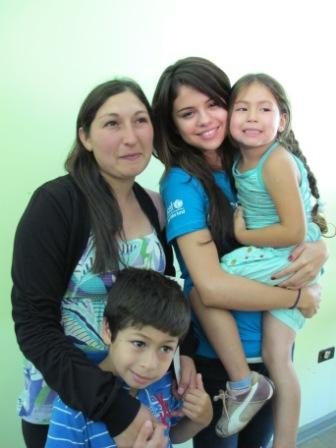 Selena Gomez with Chilean Family.jpg