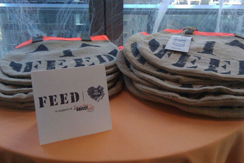 FEED Trick-or-Treat bags to benefit UNICEF.