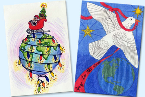 Unicef Christmas Cards.Greeting Card Contest Winners Announced Unicef Usa
